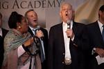 Sen. Dick Durbin (D-Ill.), Sheila Jackson Lee (D-Tex.), CBS' Bob Schieffer and others sing