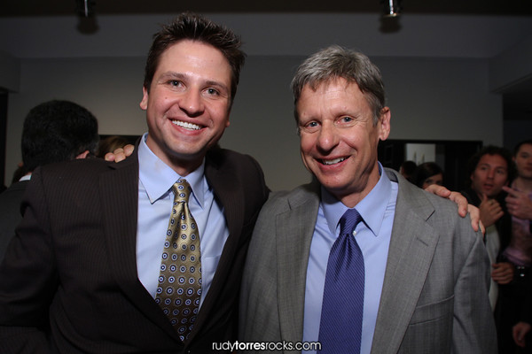 Former Governor of NM & Presidential Candidate Gary Johnson Speaks at Judd Weiss Home 5.20.2011