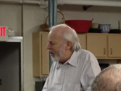 Dr. Fein at the Georgia Tea Party meeting.