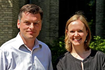 Jan E. Jørgensen og Cecilie Lonning