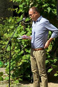 Jens Hansen byder velkommen til Grundlovsmøde 2011