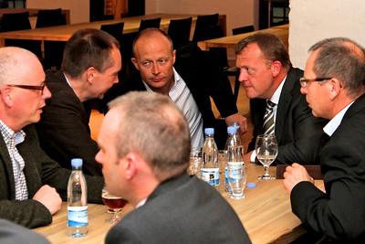 Grundlovsmøde 2012 til fordel for Løkke Fonden Lars Løkke Rasmussen i snakker erhvervspolitik