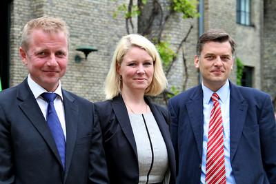 Grundlovsmøde 2012 Martin Geertsen, Pia Allerslev og Jan E. Jørgensen