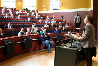 Grundlovsmøde 2012 Nanna Østergaard taler