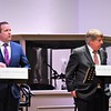 Candidates Corey Stewart for governor and Frank Wagner.