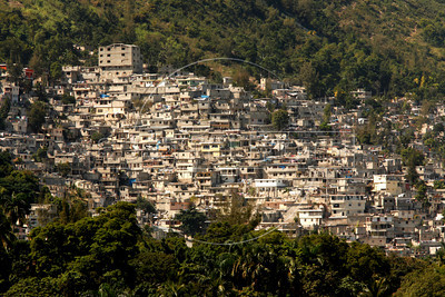 A view of Port au Prince, Haiti.(Australfoto/Douglas Engle)