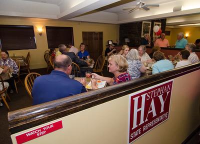 Hay re-election kickoff