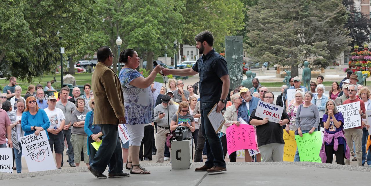 Kalamazoo Health Care Rally