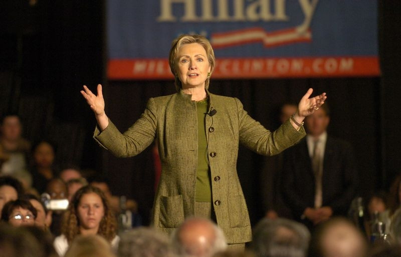 April 29, 2008.  Hillary at an early speech that I was unable to attend.