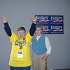 Nevada count in - Hillary wins Nevada over Obama.  Marvel and friend, Sharonlee.