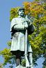Civil War Memorial in Brattleboro, Vermont.