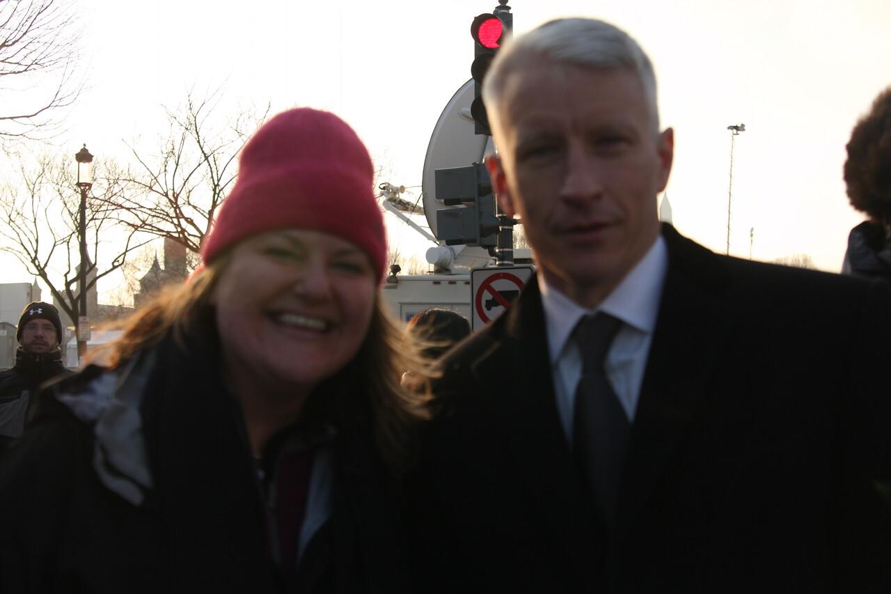 Shosh & Anderson Cooper.