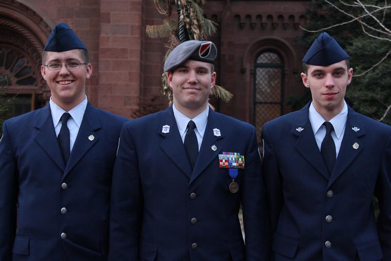 ROTC boys.