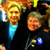 Sen Hillary and Marvel: th best moment of the day, meeting Hillary again.  You can not believe her power of person!