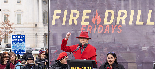 Jane Fonda; Fire Drill Fridays