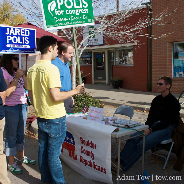 Boulder County Republicans... an apparent minority in town.