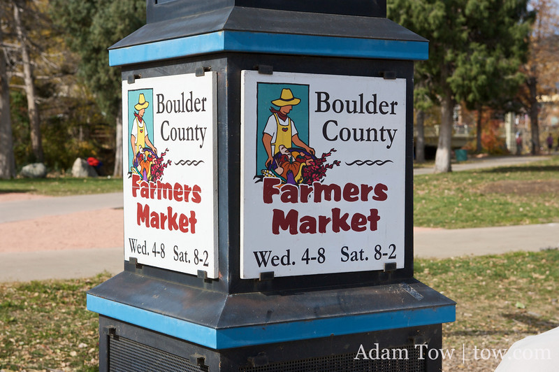 The Boulder County Farmer's Market.