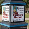 The Boulder County Farmer's Market.