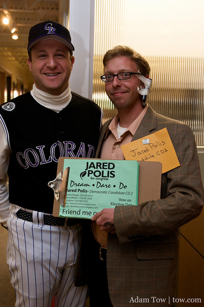 It's Jared Polis with... Jared Polis?