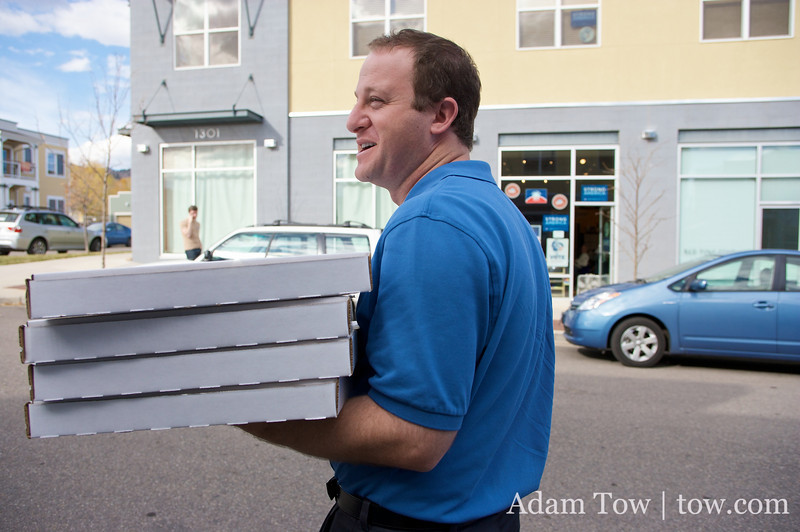 Jared, Pizza Delivery Man Extraordinaire!
