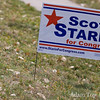 The first sign we've seen in Boulder for Jared's opponent, Scott Starin. This does not bode well for him.