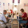 More phone banks at a Boulder canvass location.