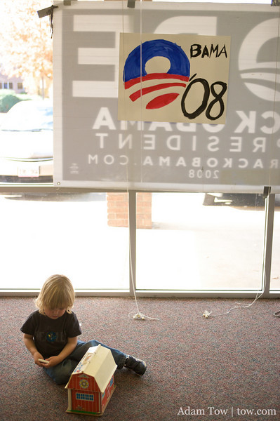 Young children for Obama!