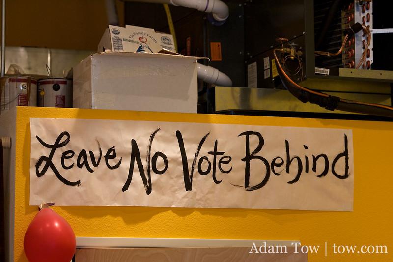 Leave No Vote Behind!