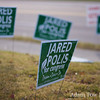 Signs for Jared for Congress