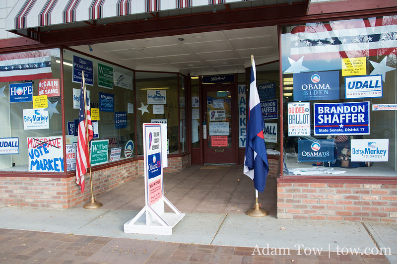 The Boulder County Democrats office.