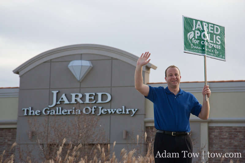 Jared Polis also sells jewelry... not!