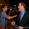 Dave congratulates his Princeton classmate, Congressman-elect Jared Polis.