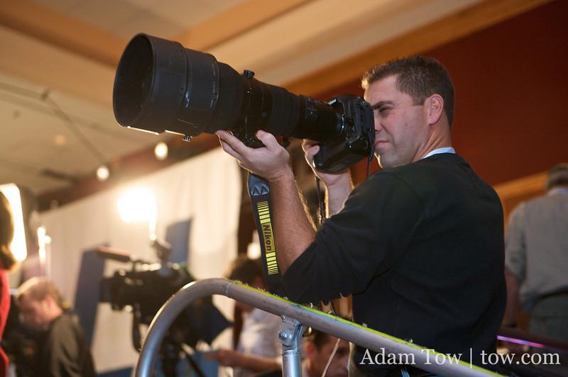 That's a big lens