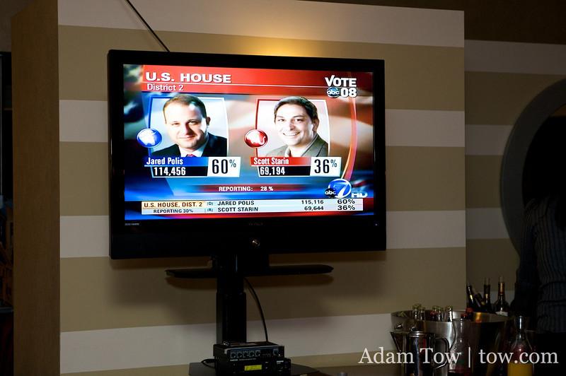 60% to 36% A decisive victory.