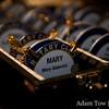 Rotary Club badges.