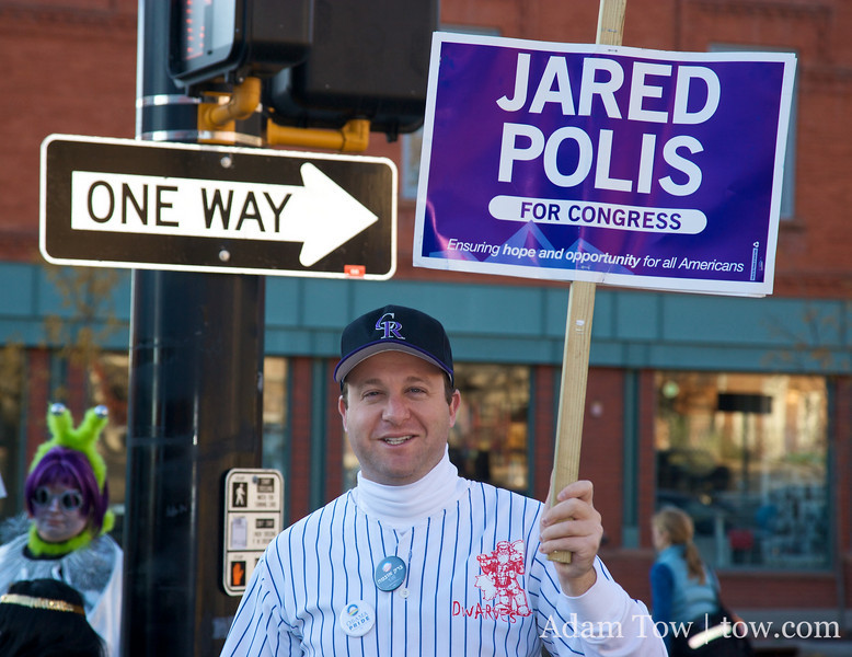 There's only one way to vote on November 4, and that's for Jared Polis.