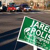Stopping traffic to get out the vote.