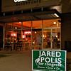 Jared Polis speaks to voters inside the Atlanta Bread Company restaurant in Northglenn, Colorado.