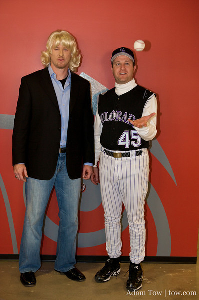 "Jared with ""Owen Wilson"" at the Fuser Halloween Party."