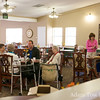 Inside the dining hall in the Northglenn Heights Assisted Care Center.