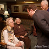 Jared speaks to Mildred Walton, who will turn 100 years old on November 7, 2008.