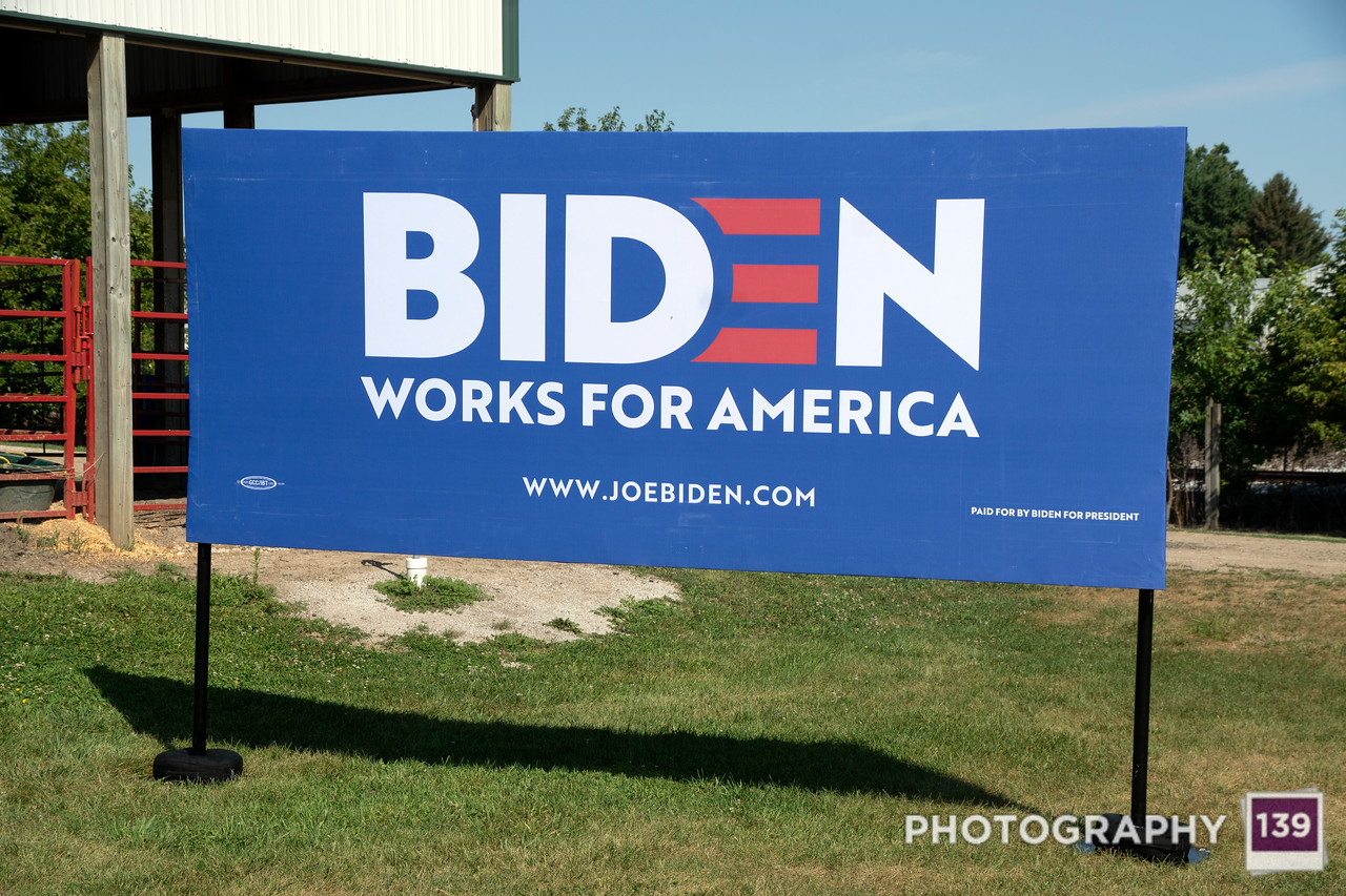 Joe Biden at Boone County Fairgrounds
