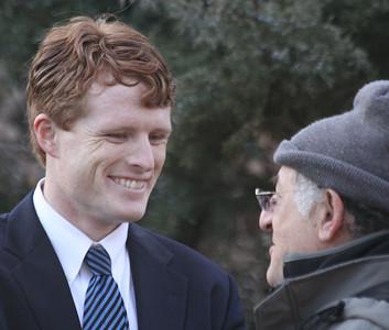 Joe Kennedy 2012 Campaign Launch