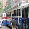 2013 NYC Pride Parade - Bus For Progress <br /> marching with Barbara Buono