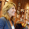 Officials toured the city of Gardner on Thursday afternoon, ending at the Gardner Ale House. candidate for Liuetenant Governor Karyn Polito talks with guests. SENTINEL & ENTERPRISE / Ashley Green