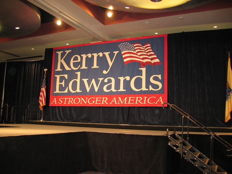Kerry/Edwards Rally in Newark, NJ