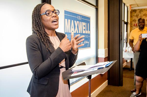 Kimatra Maxwell for State rep. campaign kickoff