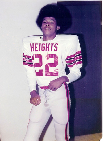 Wichita Heights High School MVP 1978 Michael Kinard #22