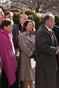 Reps. Sue Myrick, Michelle Bachmann, Steve King
