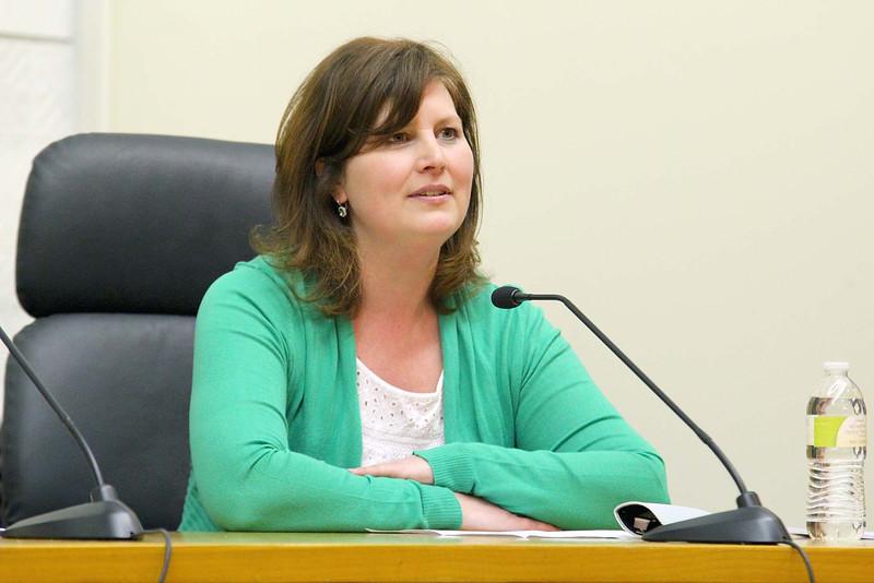 School Committee candidate Heather Sroka SENTINEL & ENTERPRISE/JOHN LOVE